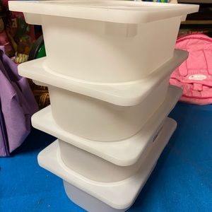 Small IKEA trolfast storage bins